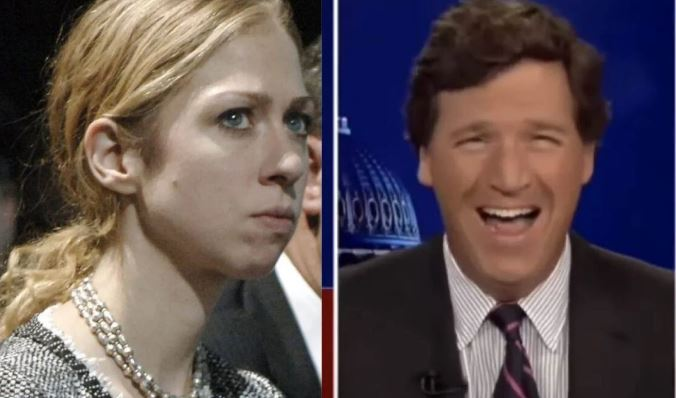 Tucker Just Took Chelsea Clinton And Ripped Her A New One!