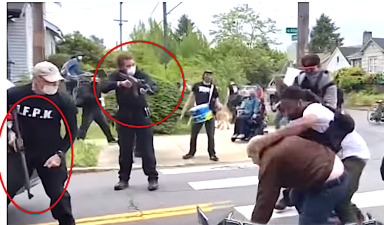 BLM Thugs Caught Engaging In ARMED Attack!