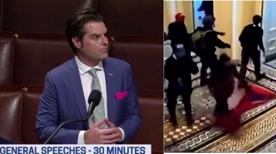 What Matt Gaetz Said About Jan 6 May Blow The Whole Thing Wide Open!
